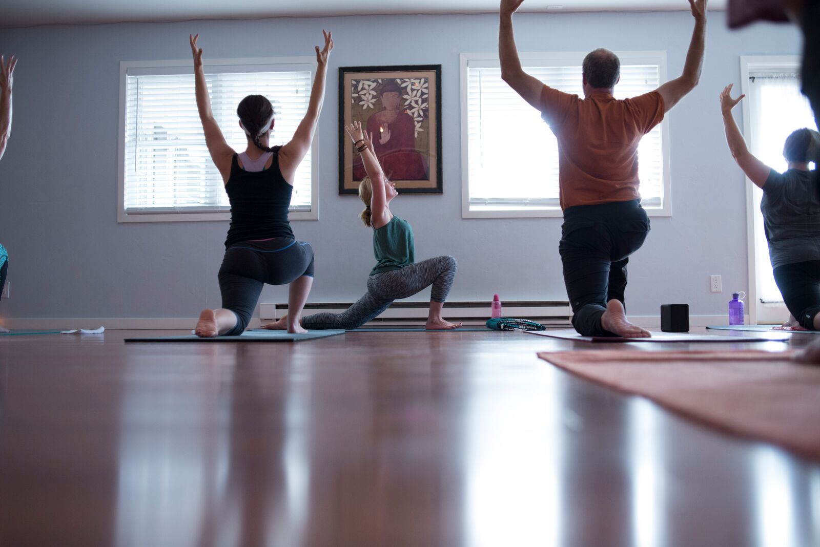 Workplace Yoga Barre Yoga Off Broadway Yoga For Every Body